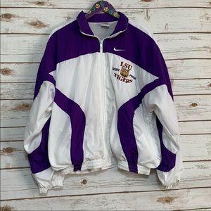 Vintage Nike LSU Tigers Windbreaker Jacket